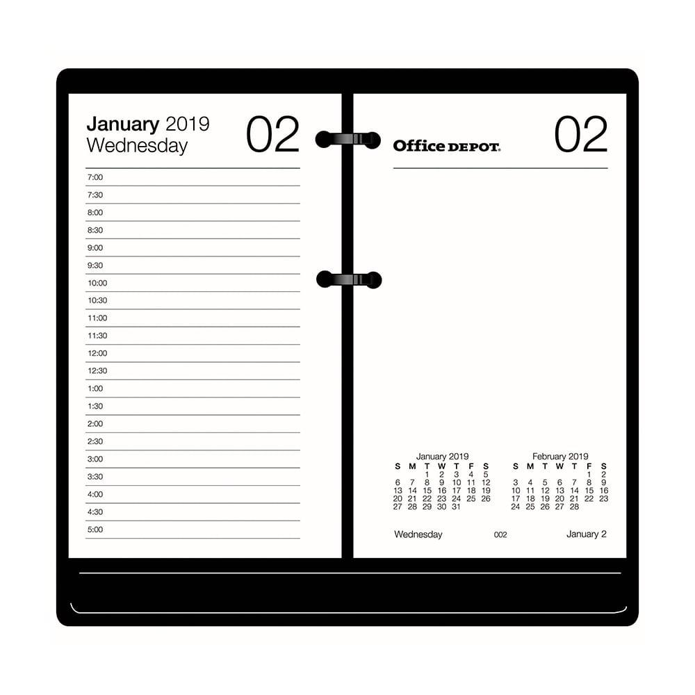 Calendar Refills & Bases