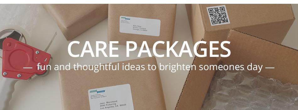 4 Fun Care Package Ideas