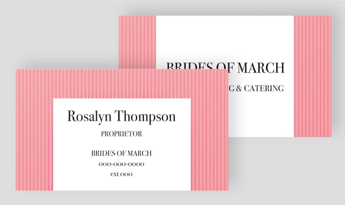 Print Design Custom Business Cards
