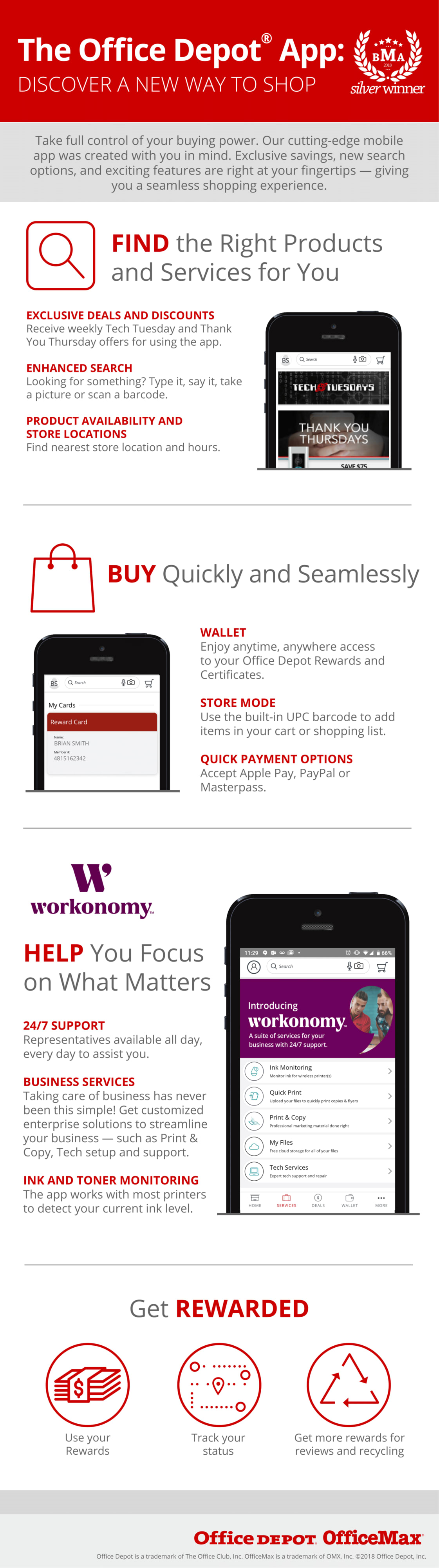 The Office Depot App