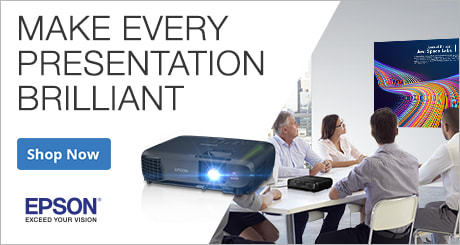 Shop Epson Projectors: Make every presentation brilliant
