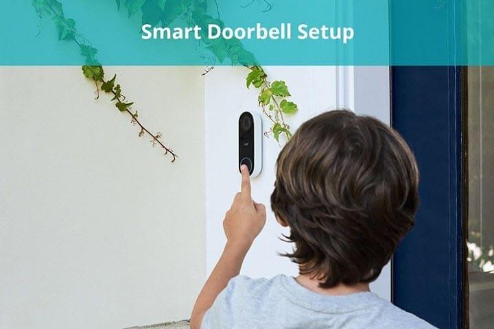 smart doorbell setup