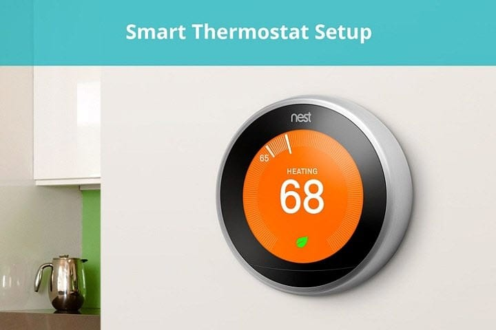 smart thermostat setup