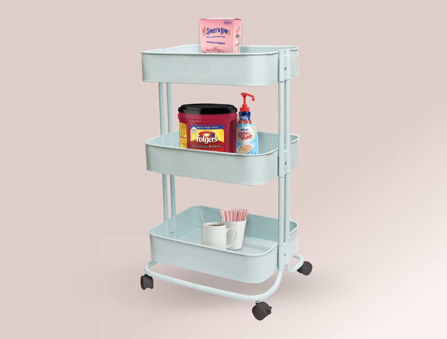 Mobile Rolling Cart