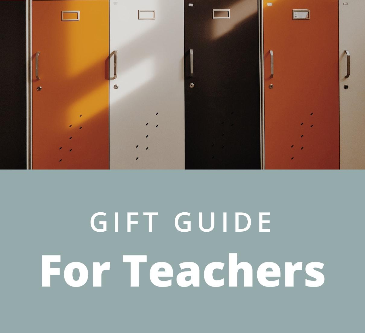 Gift Guide for Teachers multi color lockers