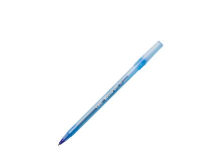 Blue Bic Ballpoint Pen