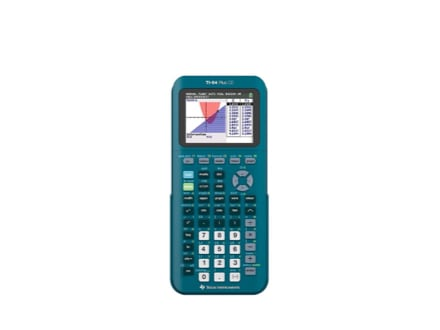 Blue TI-84 Calculator