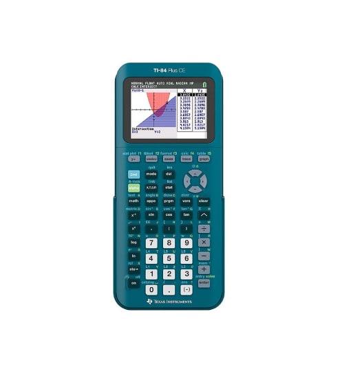 Blue TI-84 Calculator