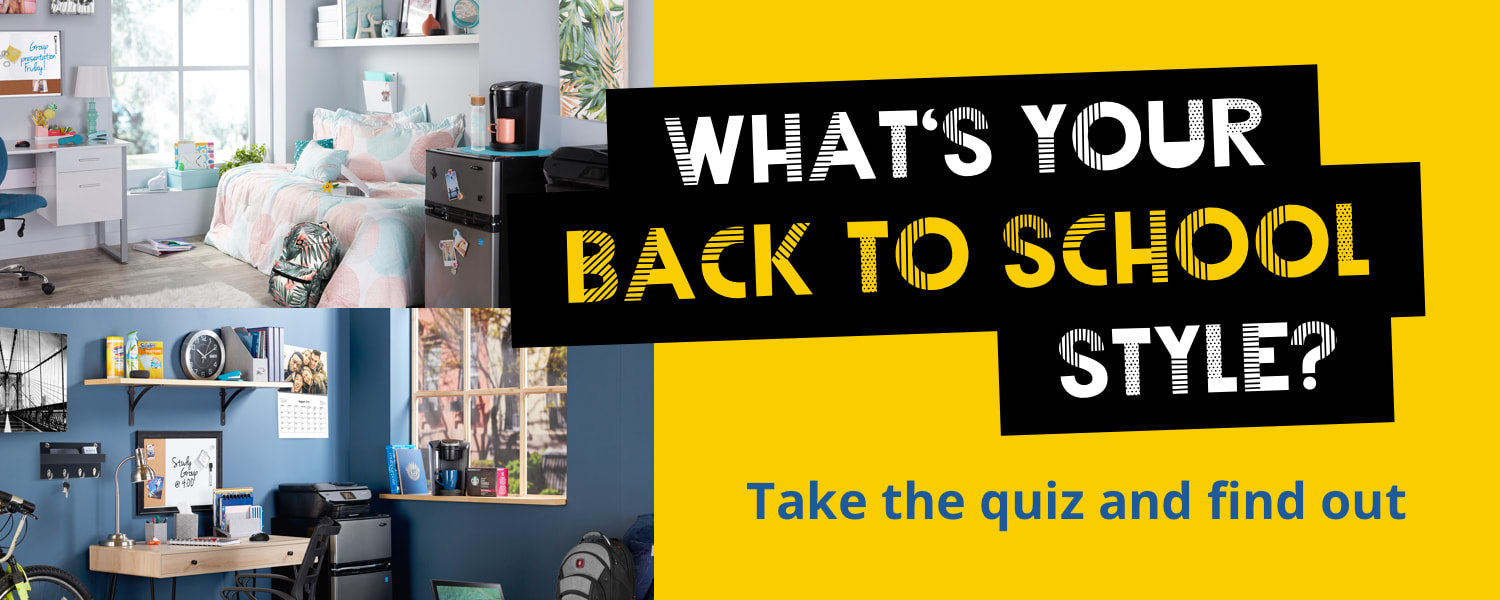 WHAT IS YOUR BACK TO SCHOOL STYLE - Take the quiz and find out