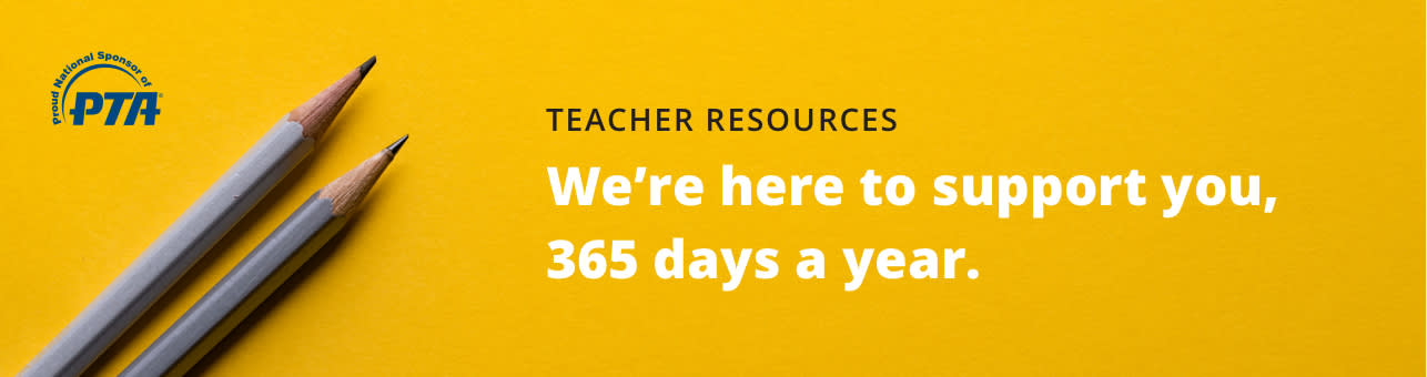 PTA - Teacher Resources we are here to support you, 365 days a year.