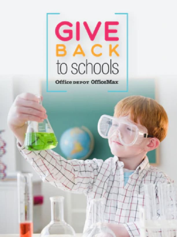 Give 5% back to school
