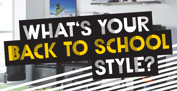 What's your back to school style?