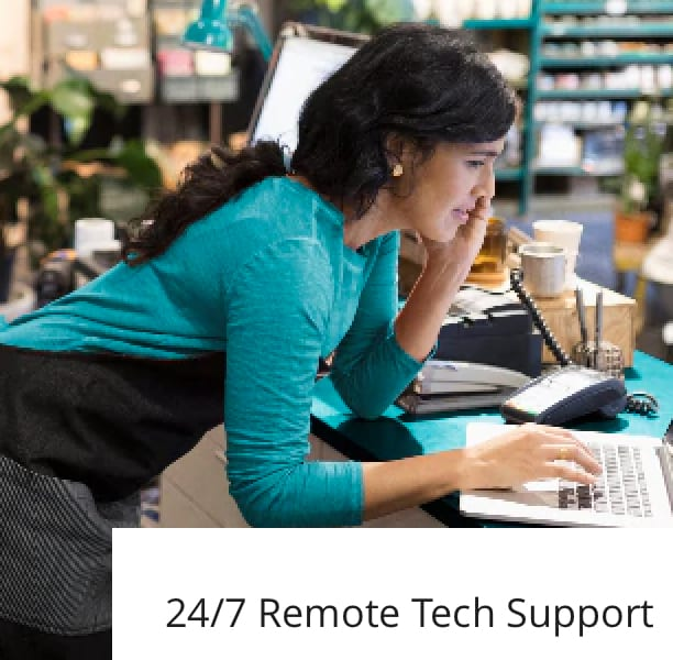 24/7 remote Tech Support