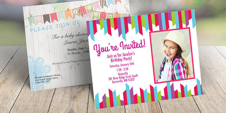 10 x Personalised Swimming Pool Birthday Party Invites with Envelopes 11