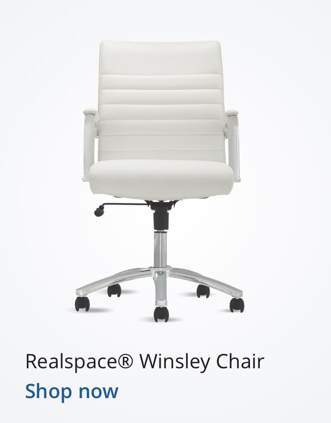Realspace Winsley Chair