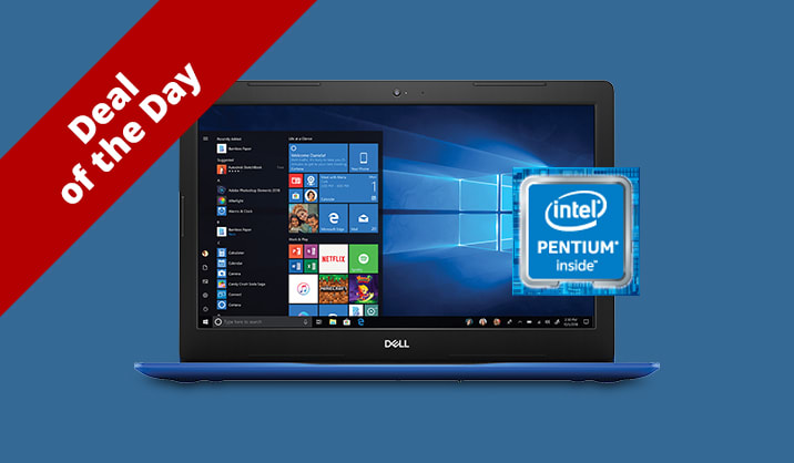 """Only $299.99 Dell 15"""" Touchscreen Laptop with Office 365"""