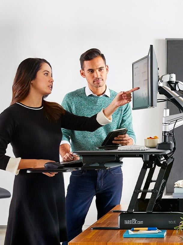 Stand up & be well | Varidesk standing desk & office solutions