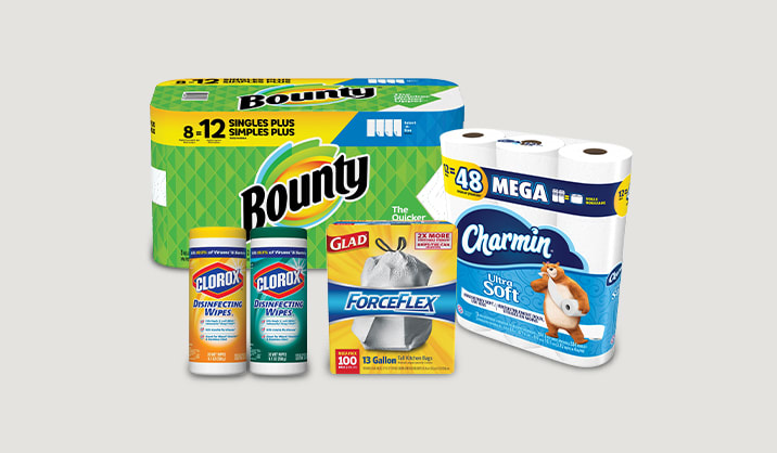 Save up to 30% on select cleaning supplies