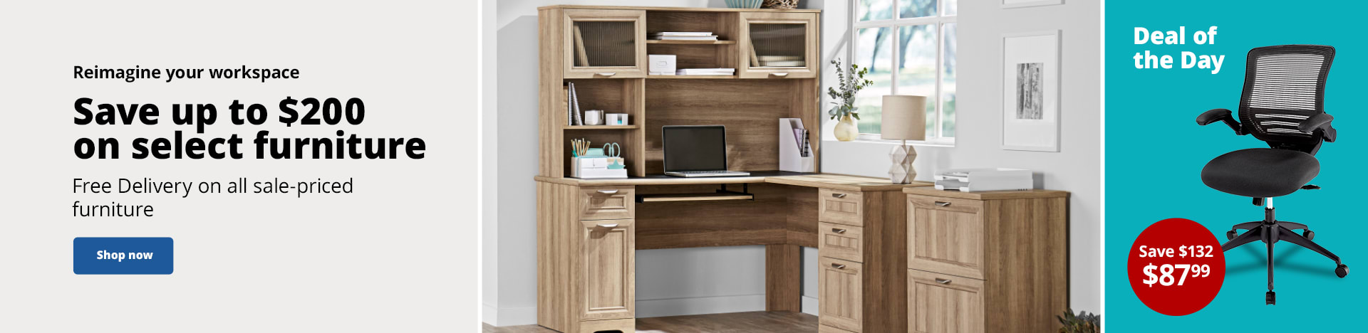 Save up to $200 on select furniture | Free Delivery on all sale-priced furniture