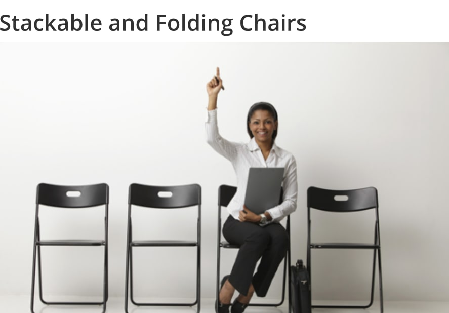 Stackable And Folding Chairs