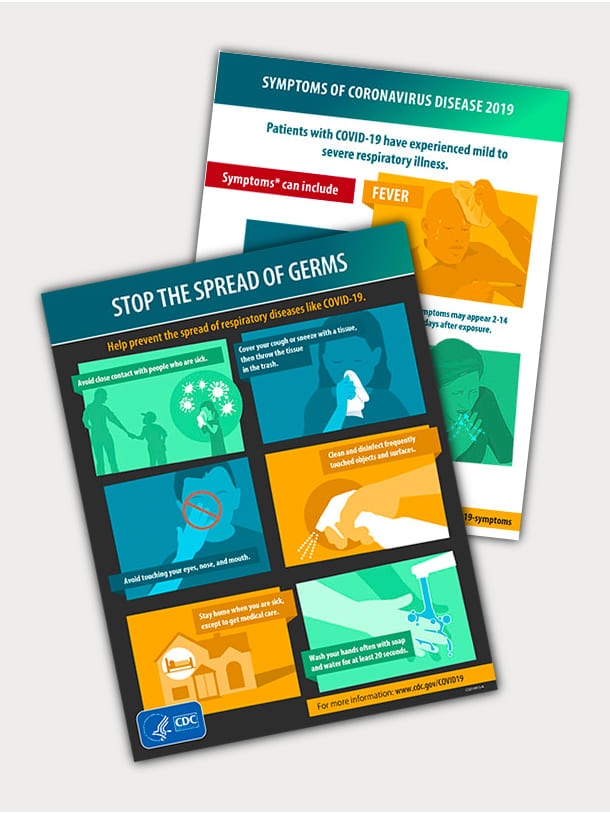 Print Official COVID-19 Posters from the CDC