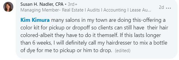 Salon Help During Pandemic