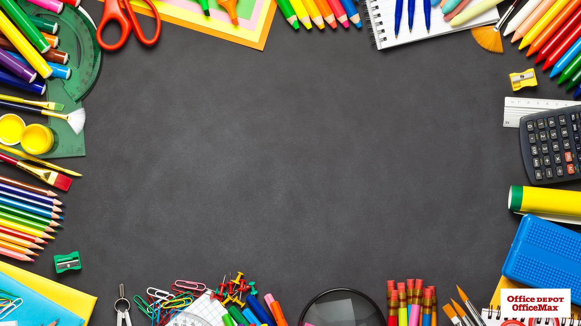 Classroom Photo Virtual Background