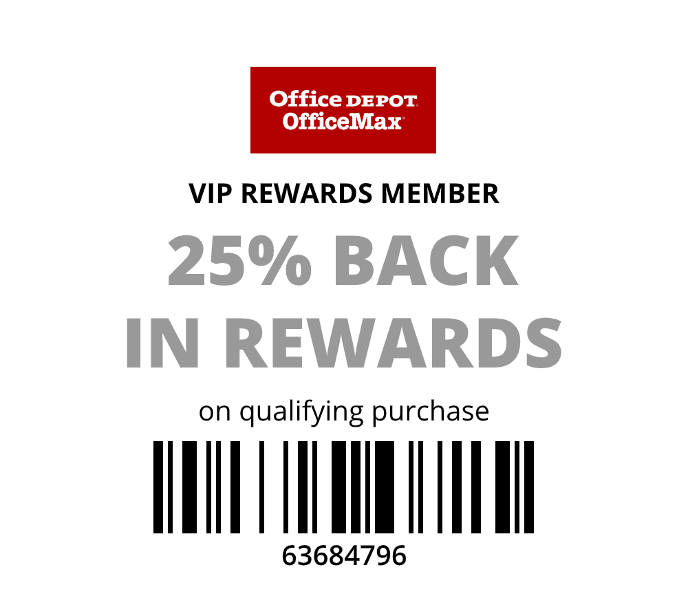 VIP only 25% Back in Rewards