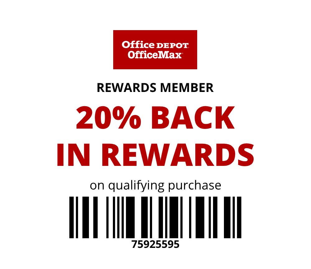 20% Back in Rewards