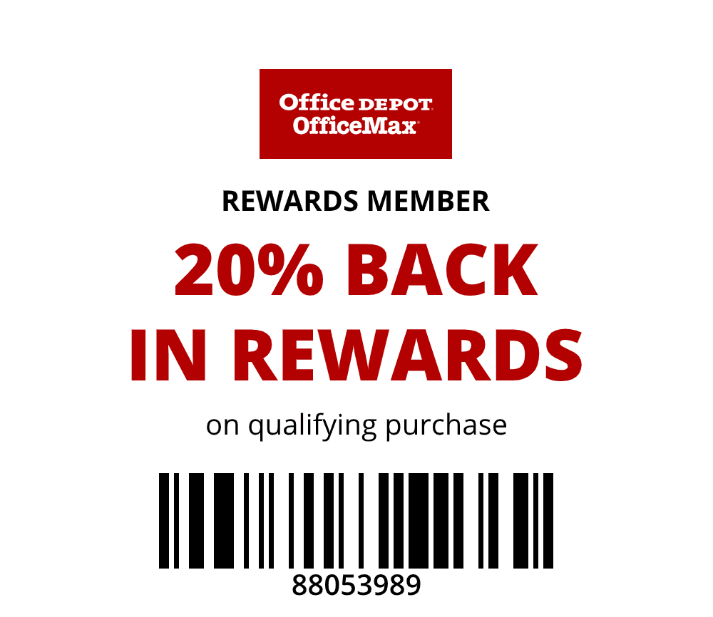 20% Back in Rewards
