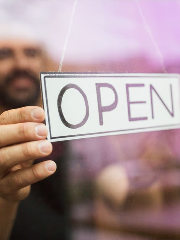 Reopening Your Business. Getting prepared to open your business