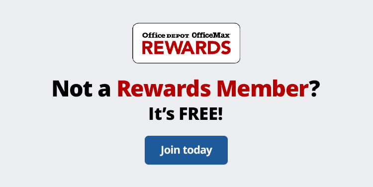 Not a Rewards Member? It's FREE! Join today