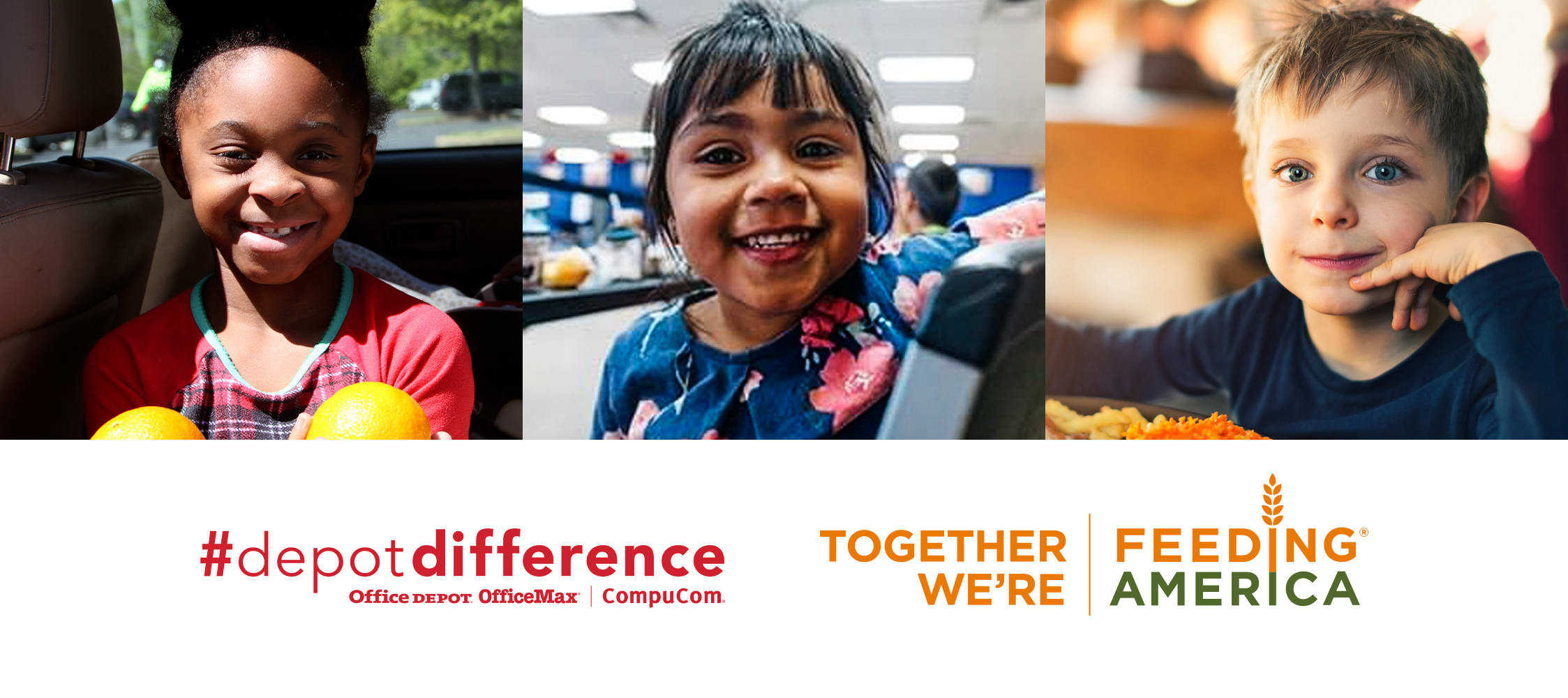 #depotdifference | Together We're Feeding America