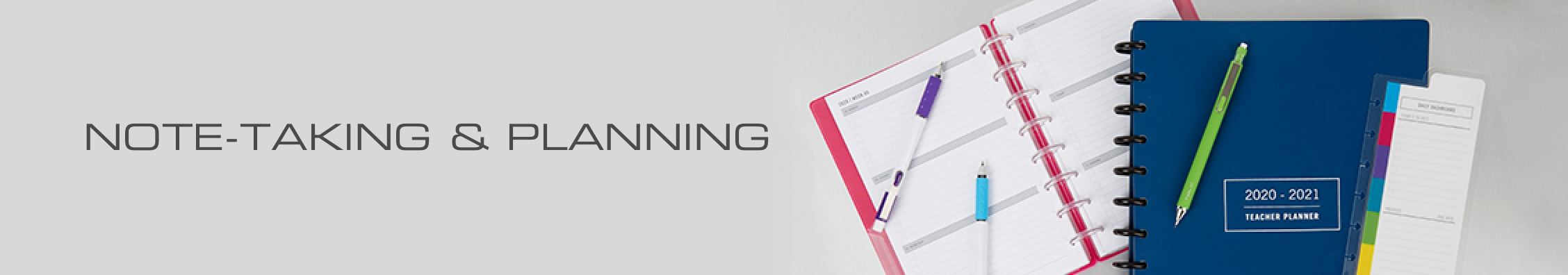 Note-Taking & Planning