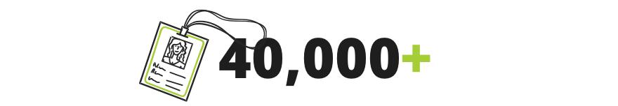 40,000+