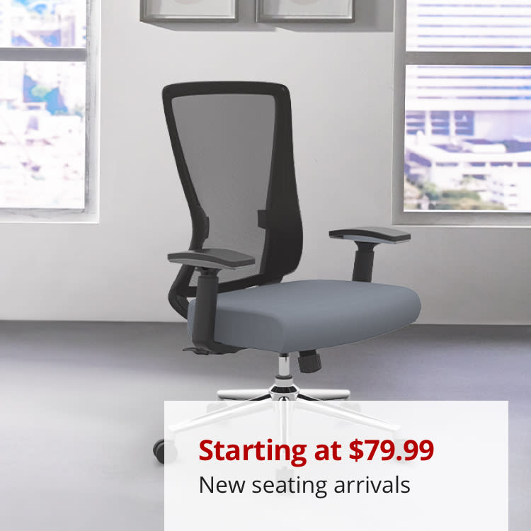 Chairs starting at $79.99