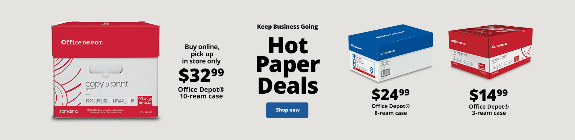 Keep Business Going. Hot Paper Deals