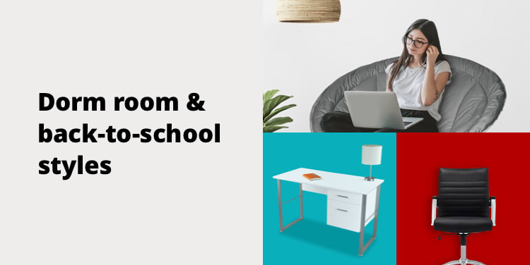 Dorm room & back-to-school styles