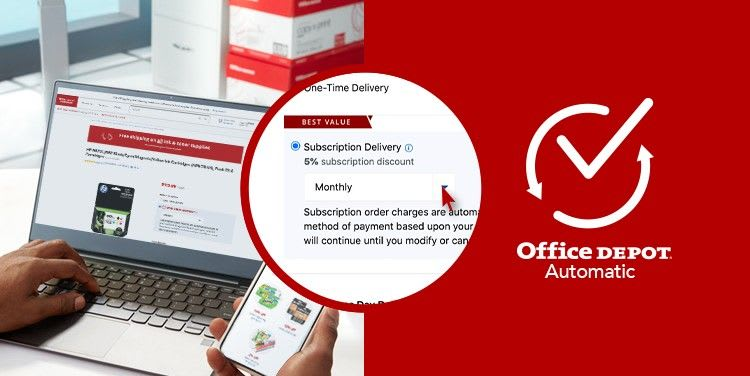 Office Depot Automatic Subscription Services