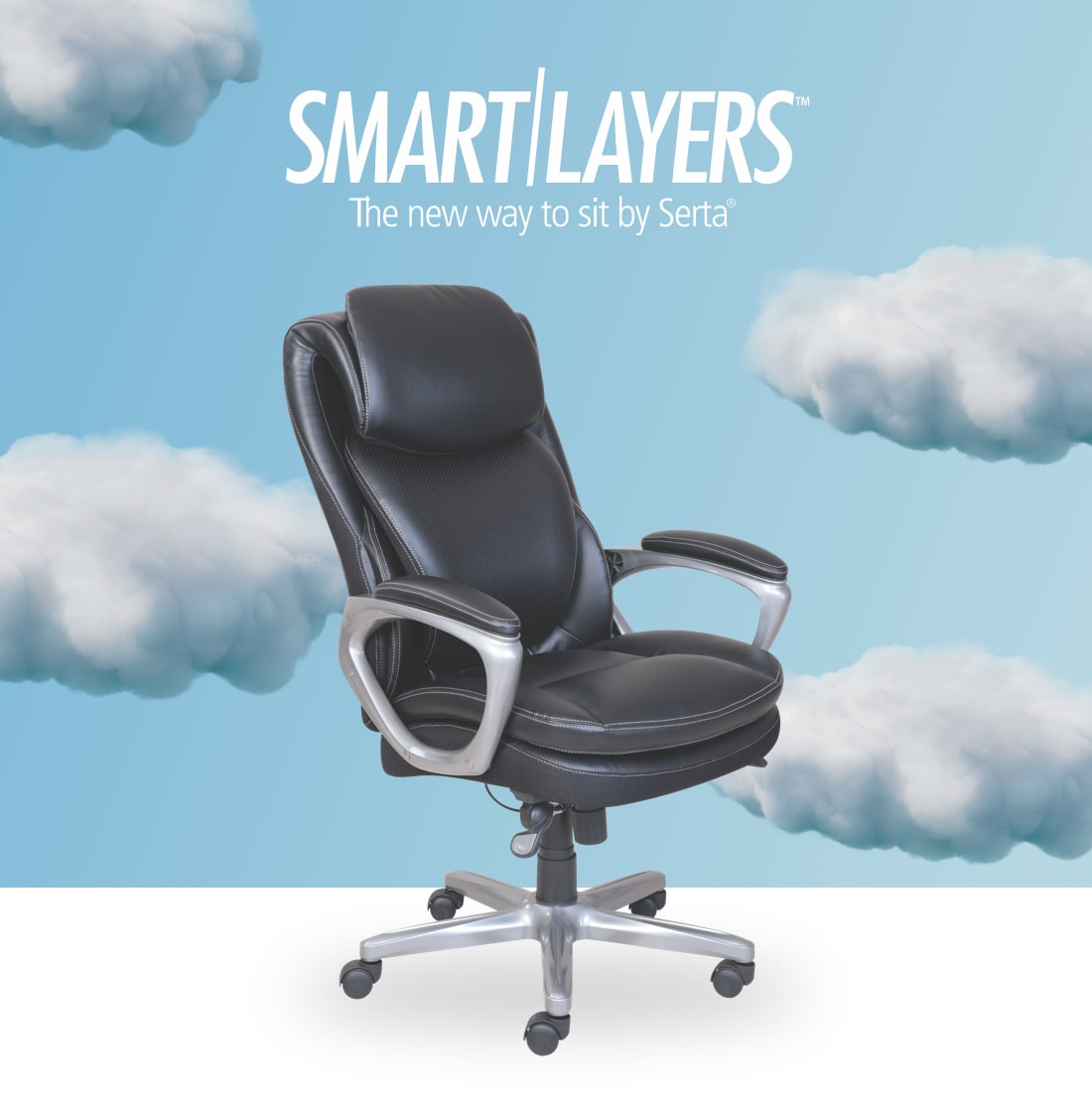 Smartlayers- The new way to sit by Serta