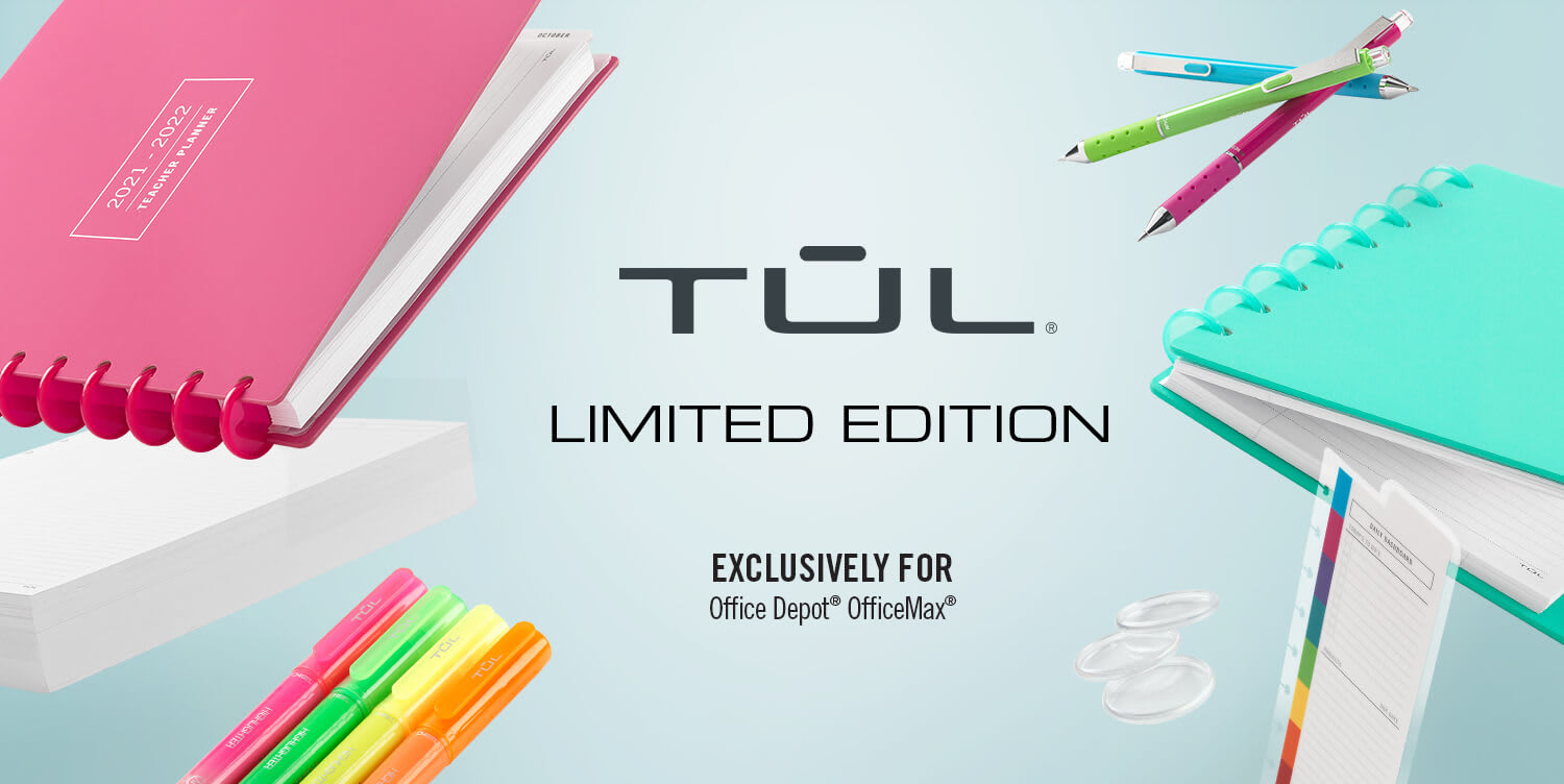 TUL Limited Edition Exclusively for Office Depot Office Max