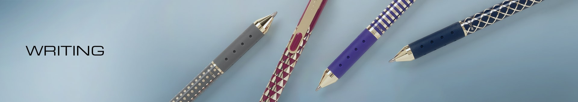 Writing with TUL Limited Edition Pens