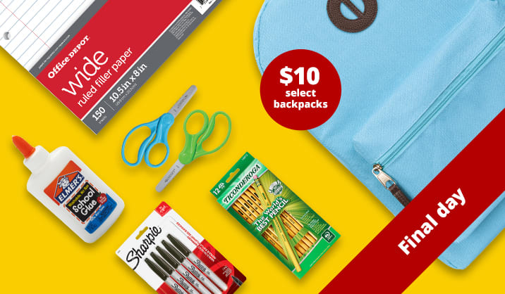 Final Day 4-Day Flash Sale. Save over 75% on school supplies