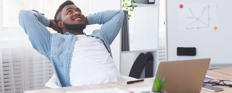How to work in comfort