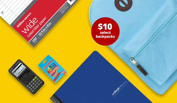 4 Day Flash Sale. Save up to 70% on school supplies. Free shipping on select items