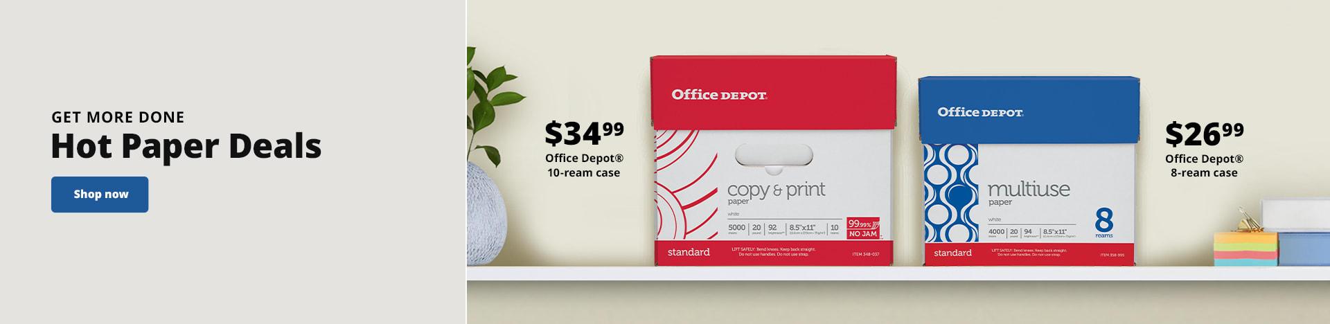 Get More Done. Hot Paper Deals
