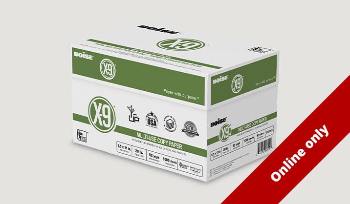 Only $29.99 Boise® X-9® copy paper, 10-ream case