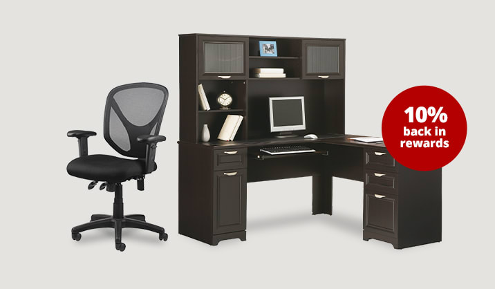Save up to 40% on select furniture & chairs