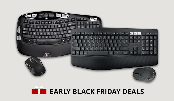 Save over 50% on select Logitech products