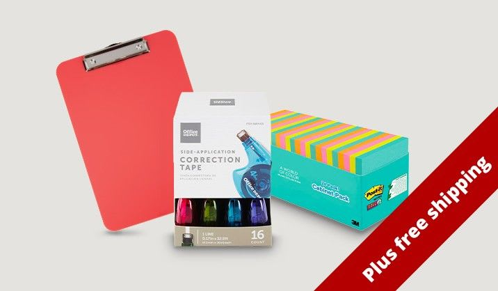 Save up to 50% on office supplies value packs